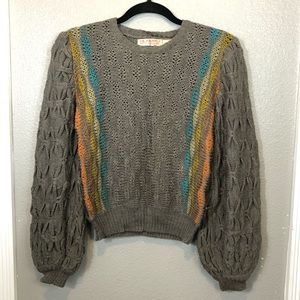 Gil Aimbez For Static vintage knitted sweater